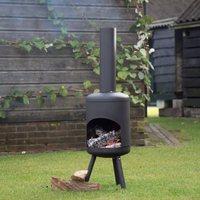 15b606526 Utepeis flyttbar liten stor i mur stål stein keramikk jern ildsted ...